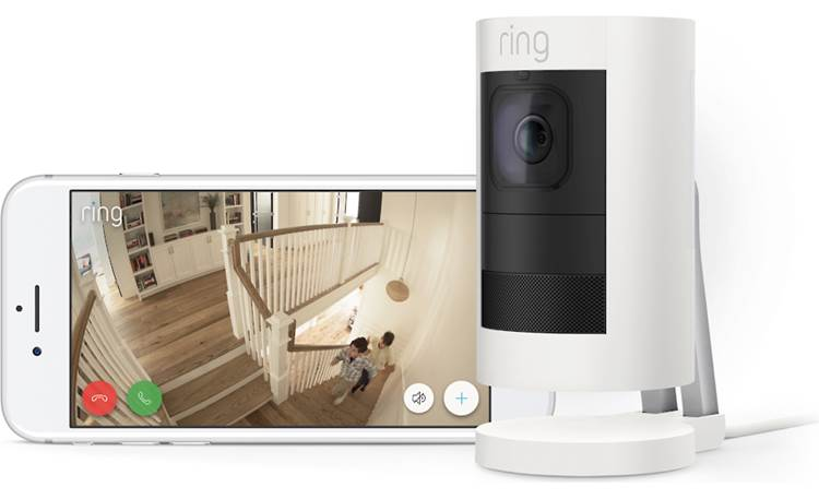Ring Stick Up Cam Wired Get an HD view of your home from wherever you are
