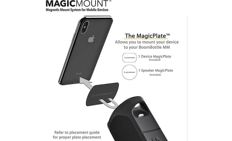 Scosche BoomBottle® MM MagicMount detail