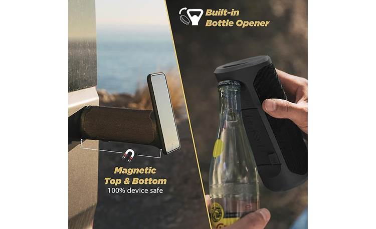 Scosche BoomBottle® MM Two great features