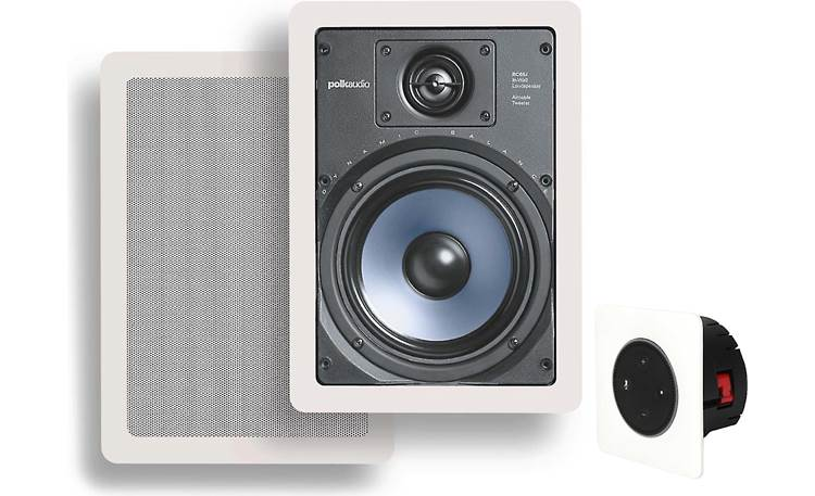 Vail Amp and In-Wall Speaker Package Front