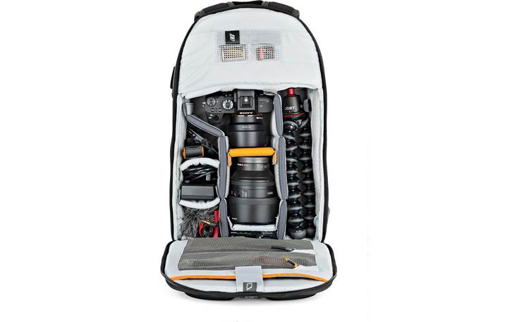 Lowepro m-Trekker BP 150 Removable internal dividers keep your gear organized (contents not included)