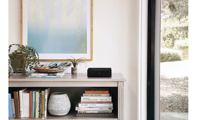 Sonos In-wall Speaker Bundle The Amp's compact design makes it easy to tuck in anywhere