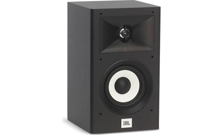 JBL Stage A120 Grilles are removable so you can admire those striking woofers