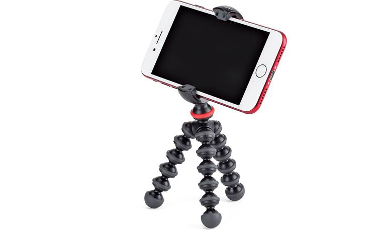 Joby® GorillaPod® Mobile Mini Shown with device angled upward