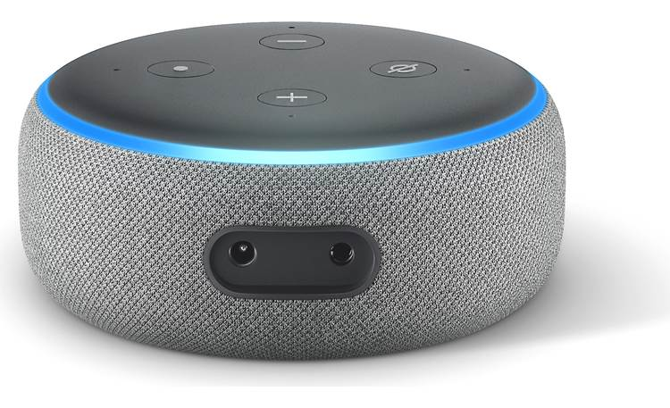 Amazon Echo Dot (3rd Generation) Gray - back