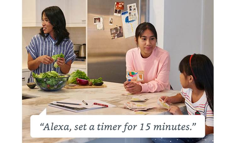 Amazon Echo Dot (3rd Generation) Gray - set timers