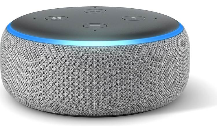 Amazon Echo Dot (3rd Generation) Gray - front