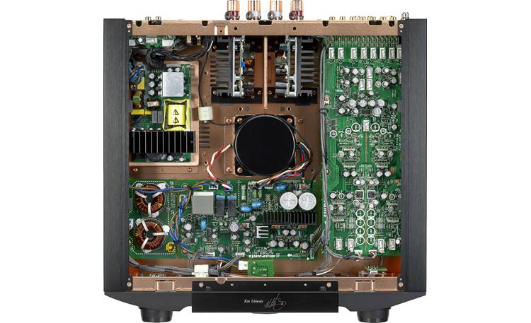 Marantz PM-KI Ruby Fully discrete two-stage design with separate power supplies for the pre-amplifier and power amp