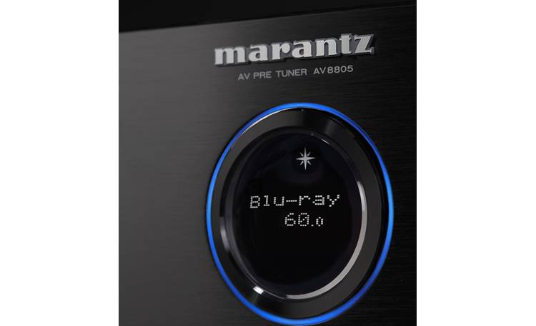 Marantz AV8805 Close-up of front-panel