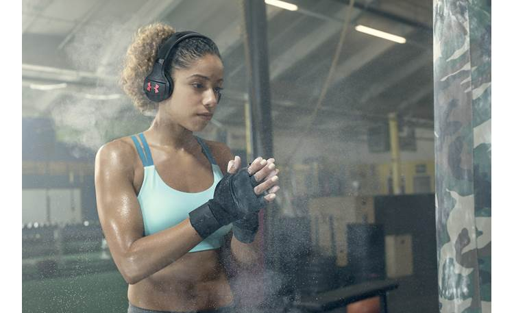 Under Armour® Sport Wireless Train — Engineered by JBL Lightweight and form-fitting on-ear headphones