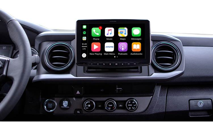 Alpine Halo9 iLX-F309TC Expand your Tacoma's touchscreen experience with Alpine's Halo9