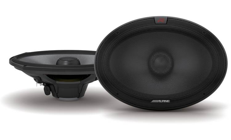 Alpine R-S69.2 Enjoy an extended frequency range with Alpine's R-Series
