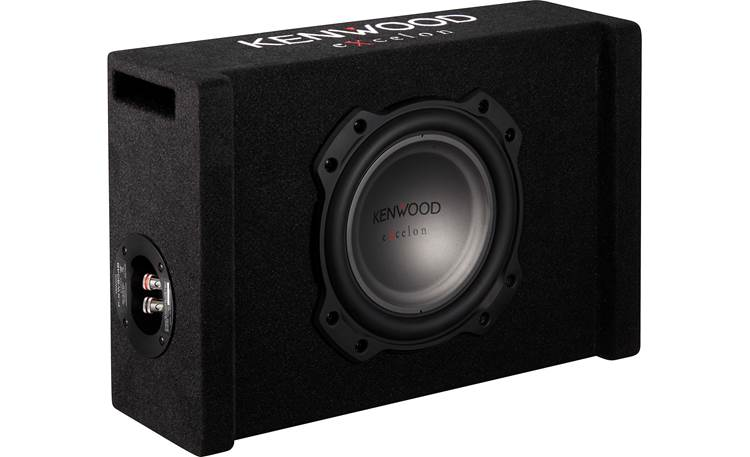Kenwood Excelon P-XW804B handles up to 300 watts RMS