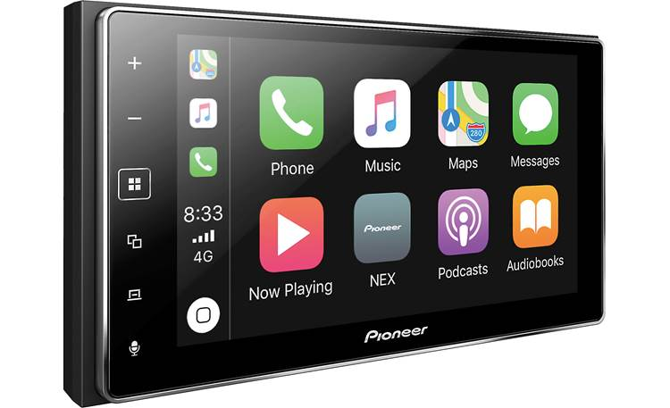 Pioneer MVH-1400NEX Pioneer builds in Apple CarPlay