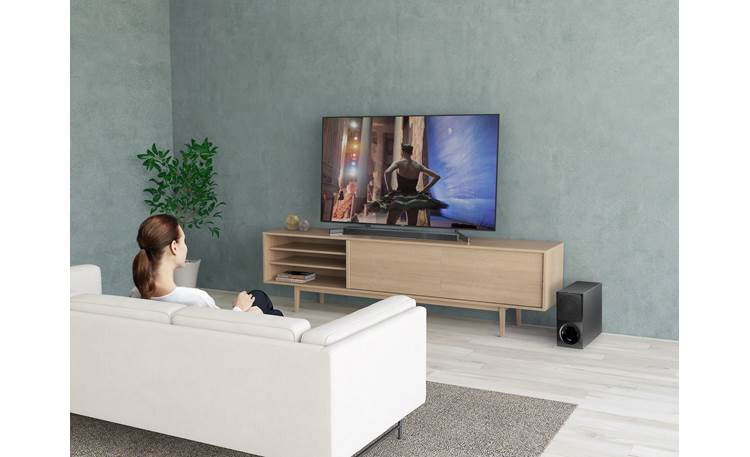 Sony HT-X9000F Wireless sub for flexible placement