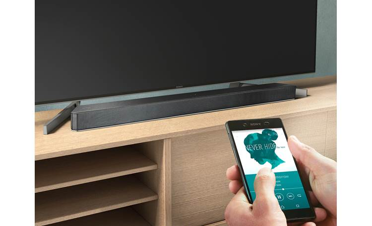 Sony HT-X9000F Stream music wirelessly with built-in Bluetooth?