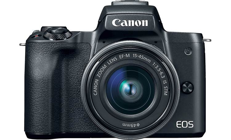 Canon EOS M50 Kit Front, straight-on