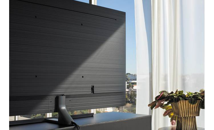 Samsung UN55NU8000 Clean Back design