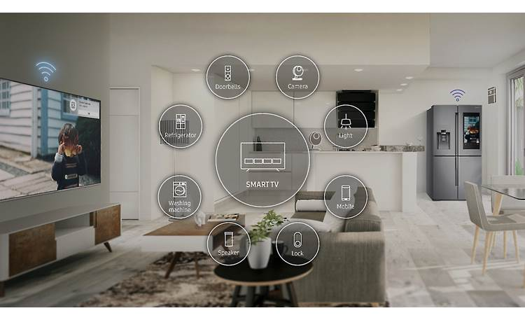 Samsung UN55NU8000 The TV can be your hub for home automation
