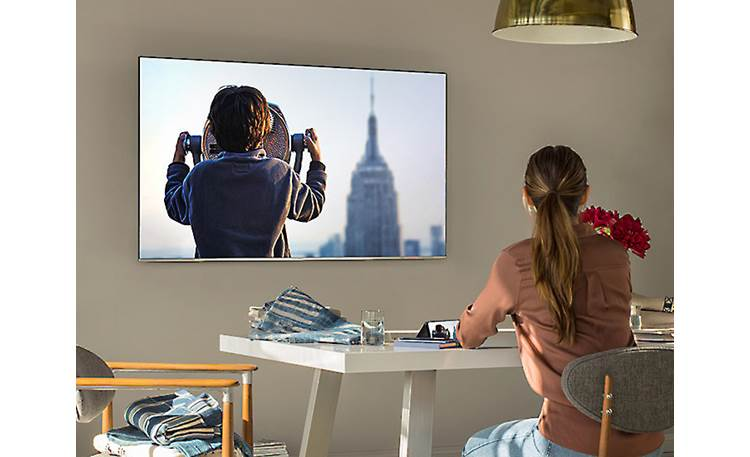 Samsung UN55NU8000 Screen mirroring from device to TV and TV to device