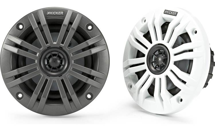 Kicker 45KM42 2-ohm marine speakers