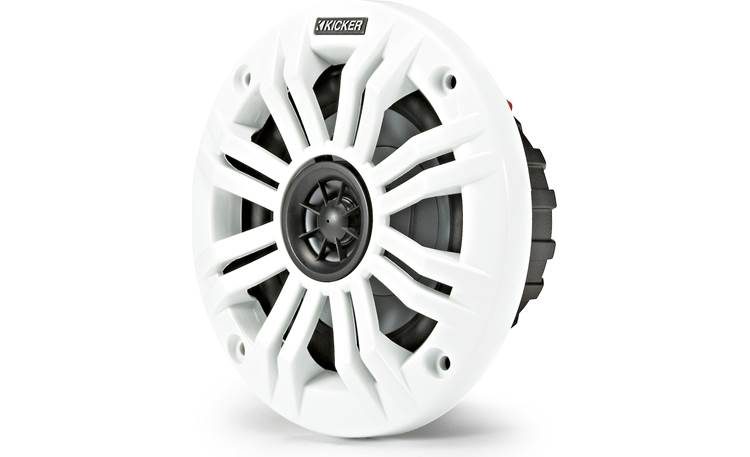 Kicker 45KM42 White and Charcoal grilles included