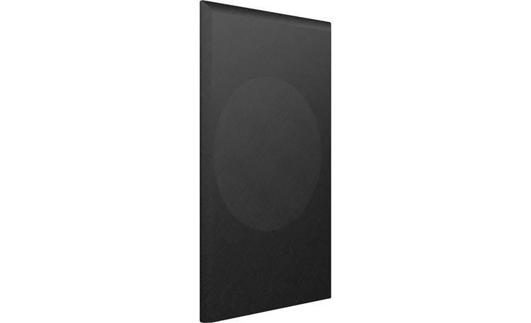 KEF Q350 Black Cloth Grille Magnetically attaches to the front of your KEF Q350 bookshelf speaker