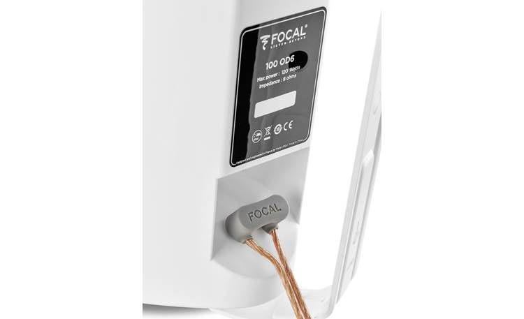 Focal 100 OD6 Spring-loaded wire terminals with silicone weather seal