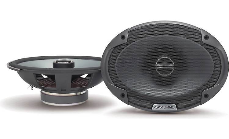 Alpine SPE-6090 Step up from factory sound with Alpine's Type E speakers