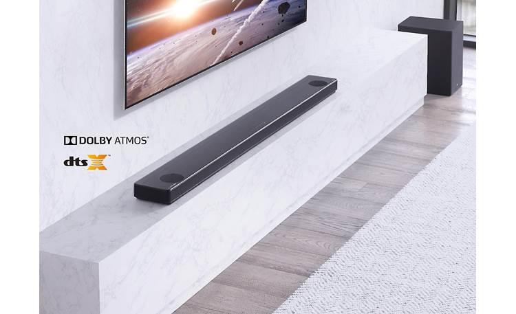 LG SL10YG Supports Dolby Atmos and DTS:X for heightened soundstage
