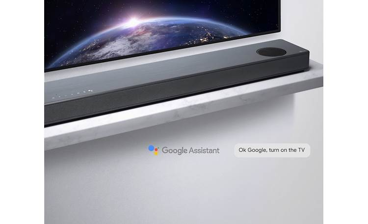 LG SL10YG Control it with your voice using the built-in Google Assistant