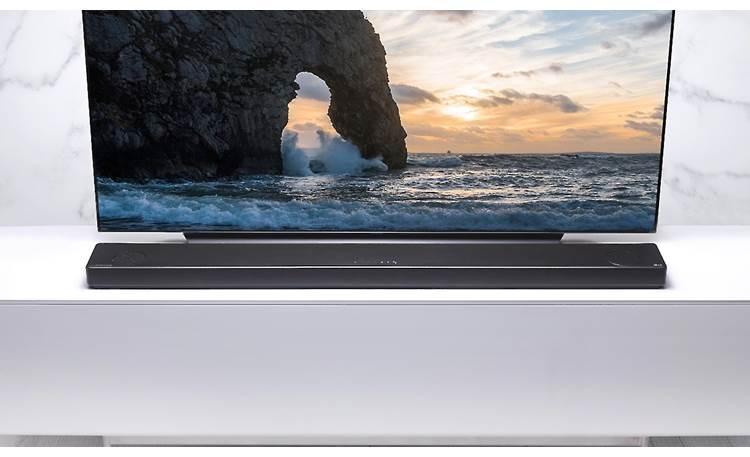 LG SL10YG Low profile won't block most TVs