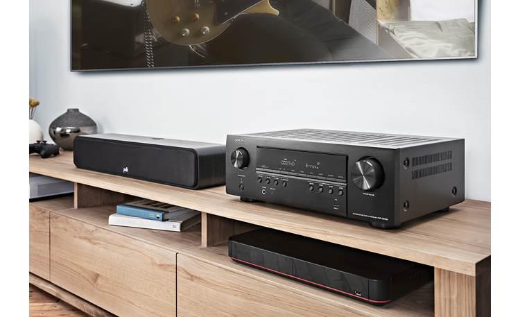 Denon AVR-S650H (2019 model) Shown in room