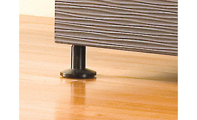Salamander Designs Black Robot Feet Raises cabinet 3 inches