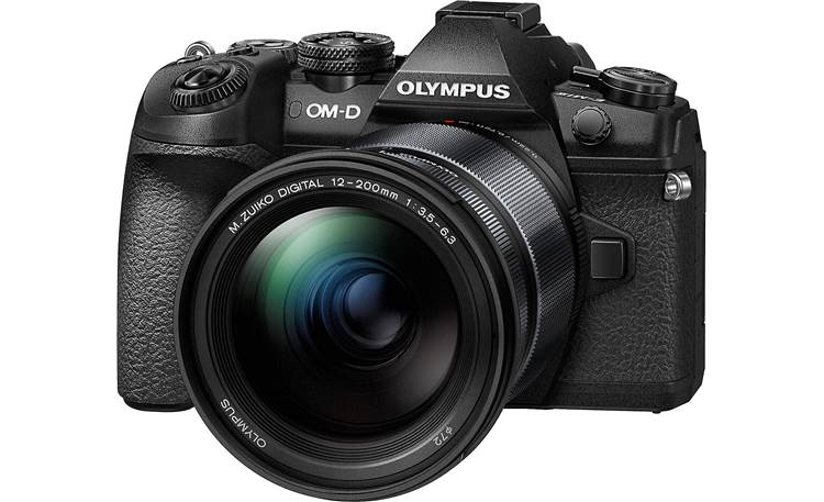 Olympus O-MD E-M1 Mark II Telephoto Zoom Kit Front