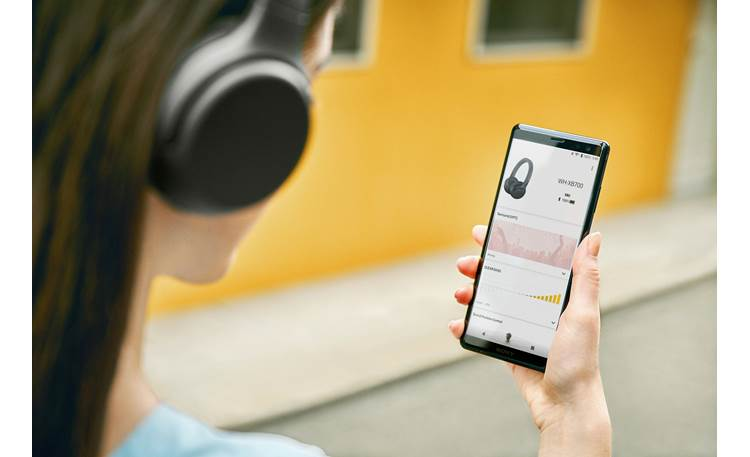 Sony WH-XB700 EXTRA BASS™ Free, downloadable Sony Connect app lets you adjust sound