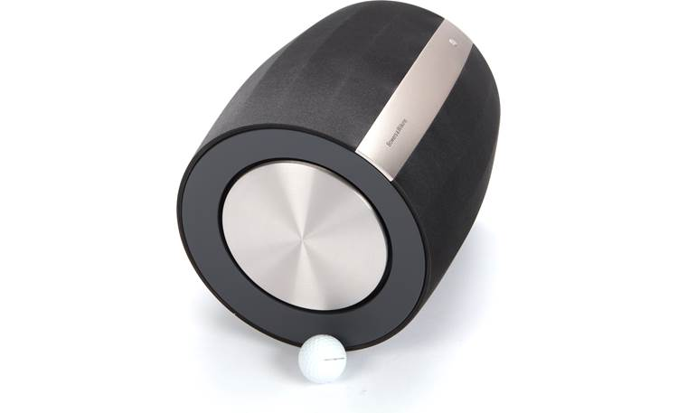 Bowers & Wilkins Formation Bass Side (golf ball shown for scale)