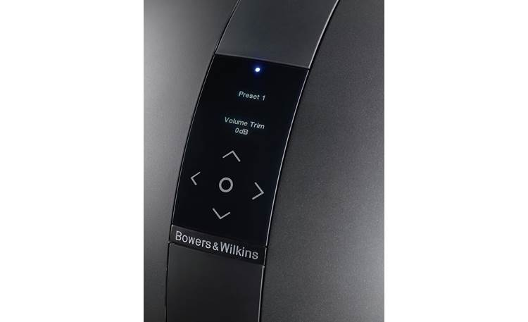 Bowers & Wilkins PV1D Control panel (shown in black)