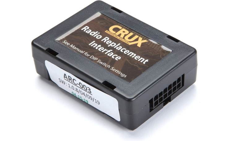 Crux SWRFD-60L Wiring Interface Other