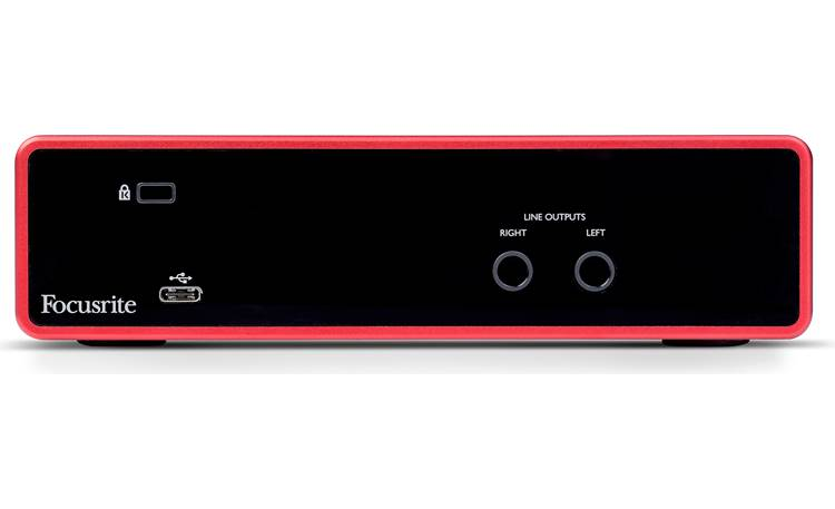 Focusrite Scarlett 2i2 (3rd Generation) Back