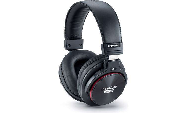 Focusrite Scarlett Solo Studio (3rd Generation) Scarlett series HP60 MkIII closed-back headphones