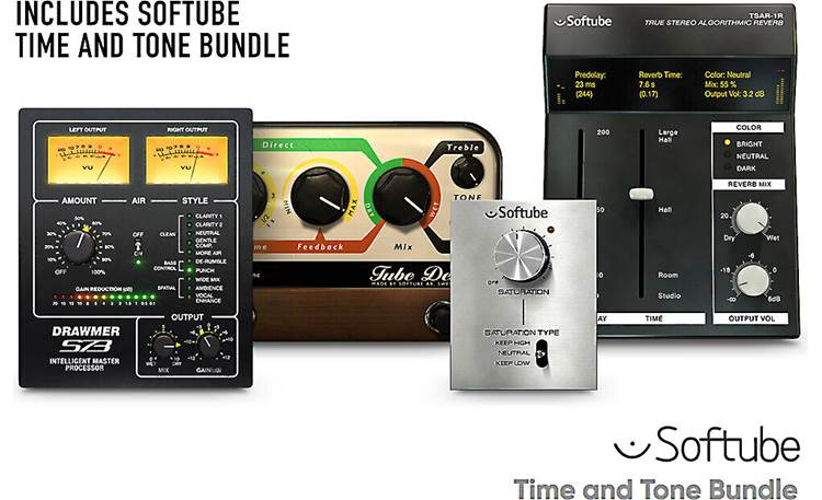 Focusrite Scarlett Solo Studio (3rd Generation) Bundled delay and reverb plug-ins