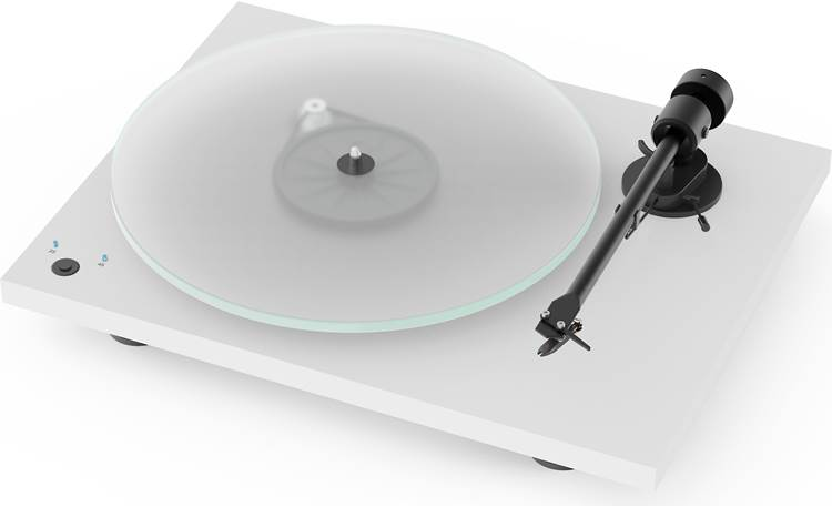 Pro-Ject T1 Phono SB Heavy 8mm glass platter (felt mat included, not shown)