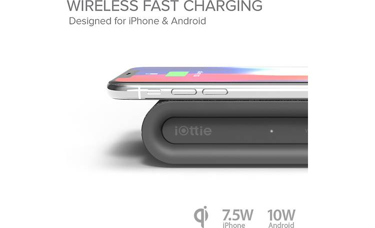 iOttie iON Wireless Plus Solid power for quick charging (phone not included)