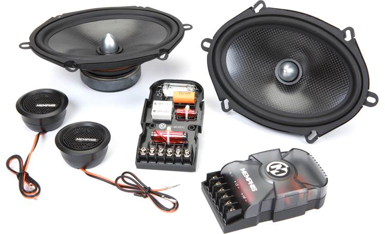 Memphis Audio MCX57C Experience better soundstaging and detail with this component set