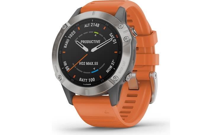 Garmin fenix 6 Sapphire Garmin's fenix 6S Sapphire is your all-in-one training partner