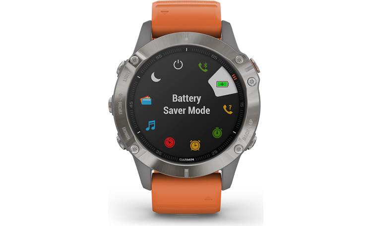 Garmin fenix 6 Sapphire Battery management