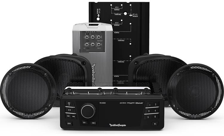 Rockford Fosgate HD9813RGU-STAGE2 Front