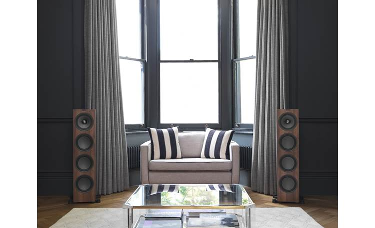 KEF Q950 Shown as part of a hi-fi stereo system (speakers sold individually)