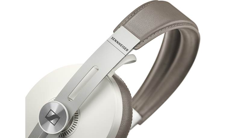 Sennheiser Momentum 3 Wireless Flexible leather headband and steel earcup sliders